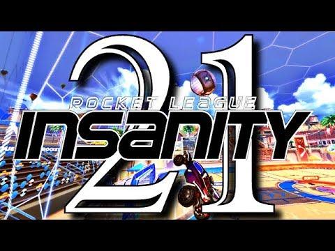 ROCKET LEAGUE INSANITY 21 ! (BEST GOALS, CRAZY FLIP RESETS
