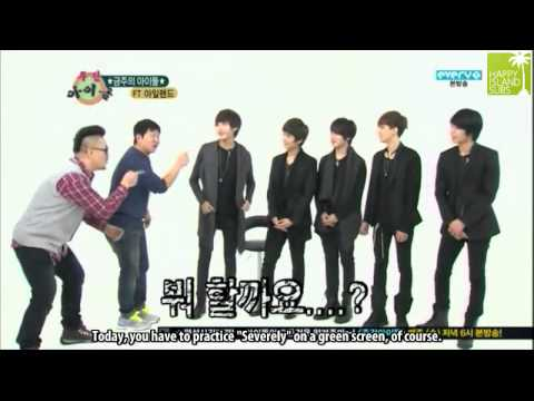 [ENG] 120314 Weekly Idol Ep 34 - FT Island [1/2]