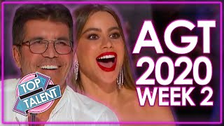 America's Got Talent 2020 AUDITIONS! | WEEK 2 | Top Talent