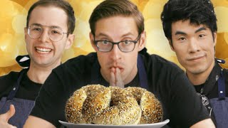 The Try Guys Cook Bagels Without A Recipe