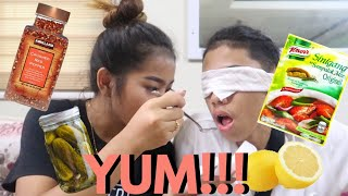 WHATS IN MY MOUTH CHALLENGE!!