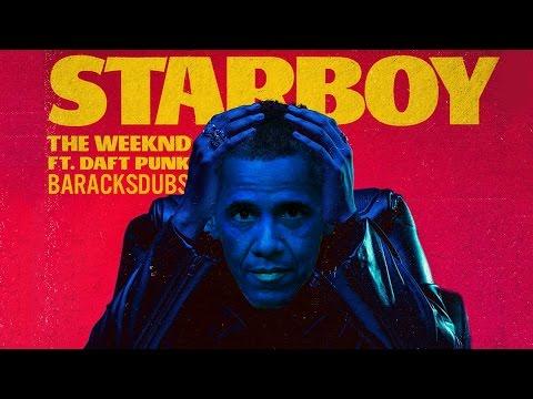 Barack Obama Singing Starboy by The Weeknd (ft. Daft Punk)