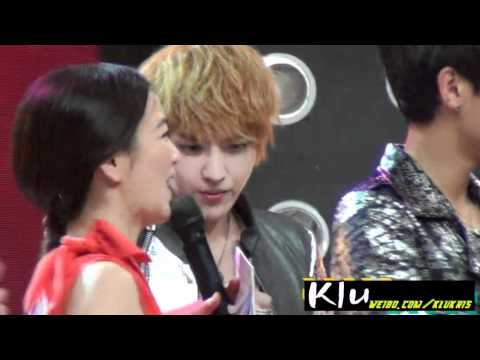 [Fancam]120627 EXO-M Kris keep eating