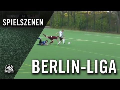 DJK Schwarz Weiss Neukölln - BFC Dynamo II (Berlin-Liga) - Spielszenen | SPREEKICK.TV