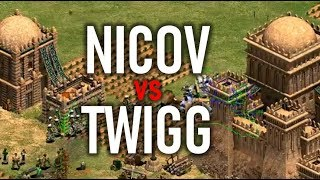NICOV vs TWIGG - Choque de Titanes!! Age of Empires 2