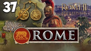 SAILING INTO CARTHAGE! Total War: Rome II - Rise of the Republic - Rome Campaign #37