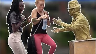 HUMAN STATUE PRANK 2019 #4 | AWESOME REACTIONS