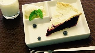 How To Make Easy Blueberry Pie Recipe 2015
