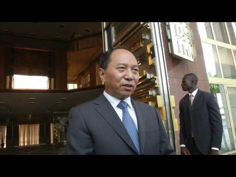 Audience accordée le 11 01 2017 par S.E. Paul BIYA à S.E. Wei Wenhua
