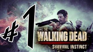 The Walking Dead : Survival Instinct - Parte 1: Como Tudo Começou! [ Detonado em PT-BR]