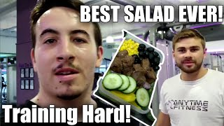1000 Calorie Workout In 30 Minutes & The Best Salad Ever!