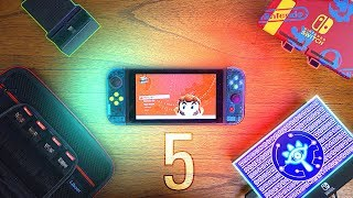5 MUST HAVE Nintendo Switch Accessories! (2018)