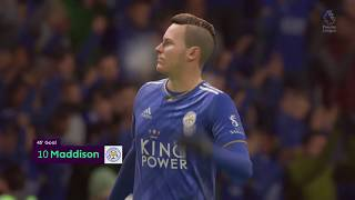 Leicester 3-1 Crystal Palace - 2-1 GOAL: James Maddison