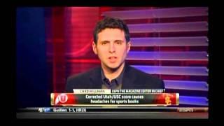 "RJ Bell on ""Outside the Lines"" talking USC/Utah Score Change"