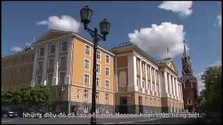 [Du Lịch Nga] - Khám phá Moscow (2015)