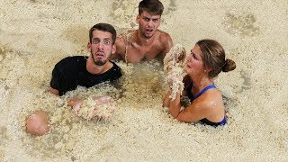 Last To Leave Ramen Noodle Pool Wins $20,000