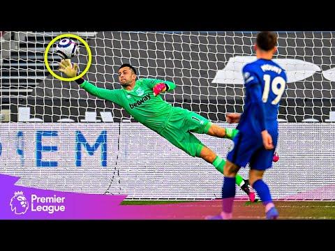 GLORIOUS GOALKEEPER SAVES   Fabianski, Leno, Alisson   April's best Premier League saves