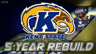 From the MAC to #1 | Kent State 5-Year Rebuild | NCAA Football 14 (54/126)