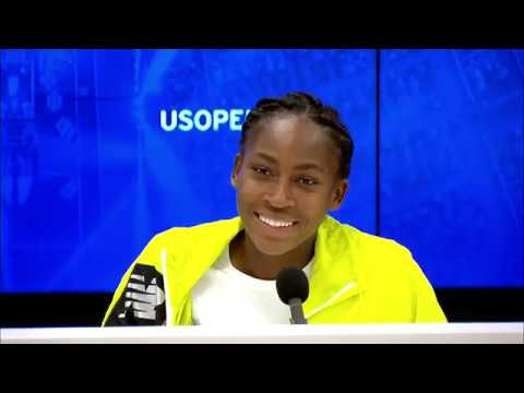 """Coco Gauff: """"Playing in New York is amazing!"""" 