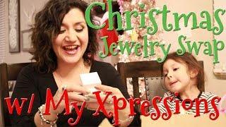 Christmas PANDORA Jewelry Swap w/ My Xpressions