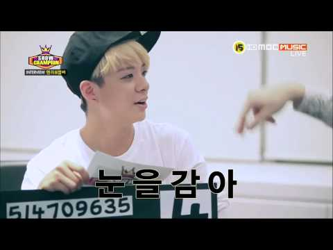 130904 [中字] Show Champion Interview Amber Henry 訪談中字