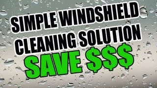#1 Windshield Cleaning Solution