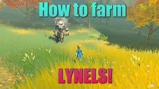 Breath of the Wild Guides - EASY Lynel farming!