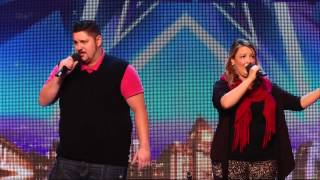 Britain's Got Talent S08E07 Keiran and Sarah Sing