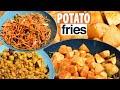 Aoo Fry - Potato Fry recipe - Crispy french fries Potato tips