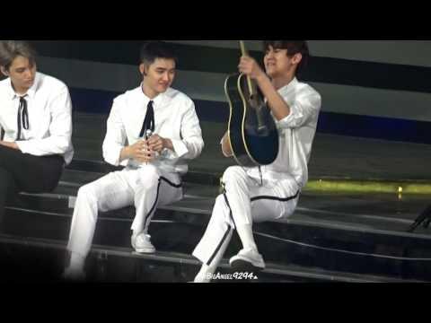 161127 EXO'rDIUM in Taipei  Call me baby+LOVE LOVE LOVE+유성우 Chanyeol focus