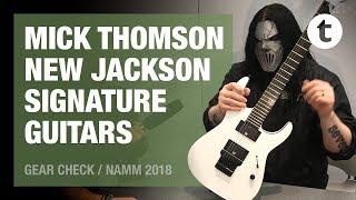NAMM 2018   Mick Thomson   New Jackson Signature Guitar  Thomann