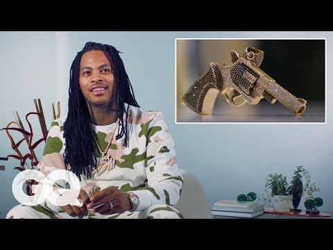 Waka Flocka Flame Shows Off His Insane Jewelry Collection | GQ