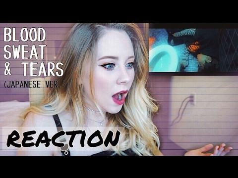 BTS - Blood Sweat and Tears (Japanese Ver.) REACTION