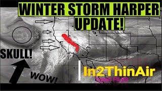 WINTER STORM HARPER UPDATE *AMAZING* ANOMALIES And Visuals