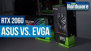 Geforce RTX 2060 Review | Asus Strix OC vs. EVGA SC Ultra | Neue Custom-Modelle