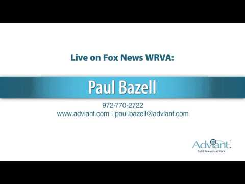 Paul Bazell featured on the radio in Virginia - 1/28/14