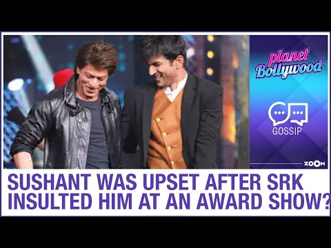 Sushant was upset when Shah Rukh Khan bullied him at an award function
