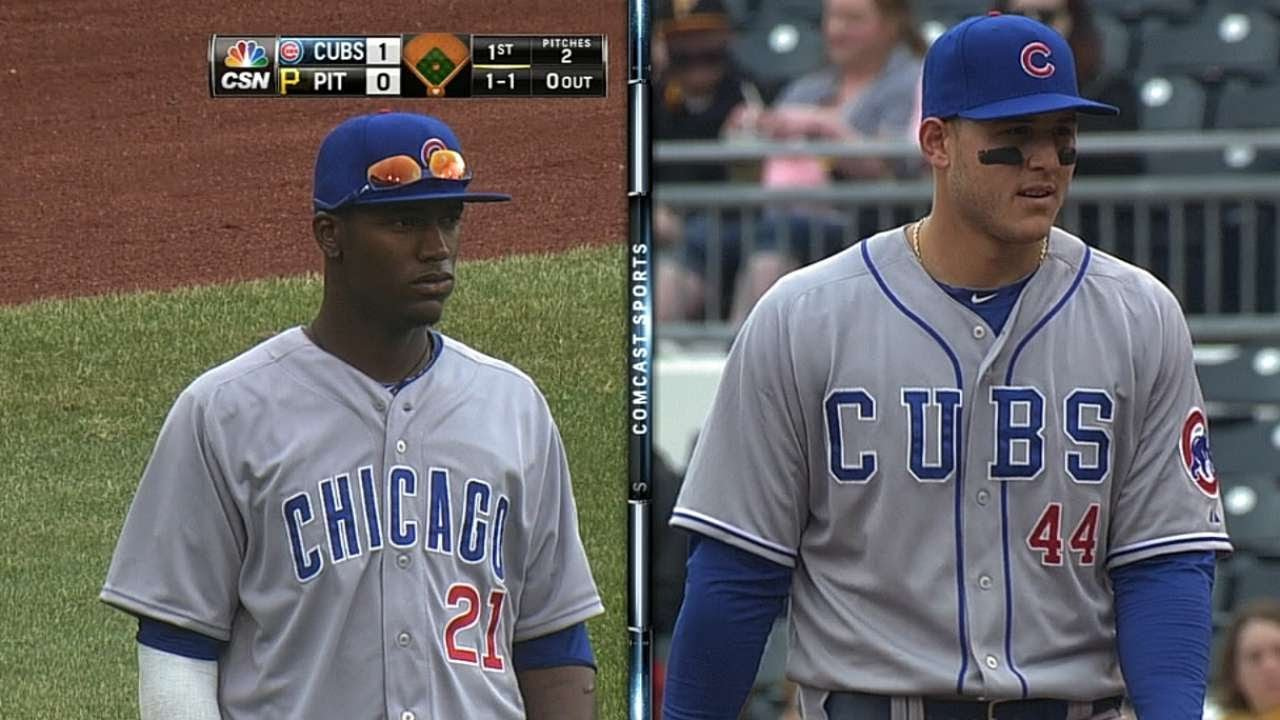 "Oh, We're Wearing The ""Cubs"" Jerseys Today?"