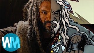 Walking Dead's King Ezekiel: Comic Book Origins