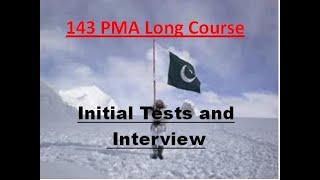 143 PMA Long Course Part I by Lt Colonel (R) Arif