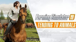 Farming Simulator 19 - Tending to Animals Játékmenet Trailer