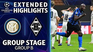 Internazionale vs. Mönchengladbach:  Extended Highlights | UCL on CBS Sports