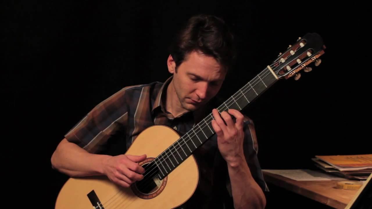 johann sebastian bach prelude in d minor bwv 999 on classical guitar klaus paul 434 hz youtube. Black Bedroom Furniture Sets. Home Design Ideas