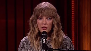 "Jimmy Fallon CRIES During Taylor Swift's ""New Years Day"" Performance"