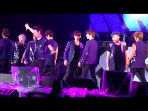 120818 Super Junior-Sexy,Free&Single@SM TOWN ⅢSEOUL