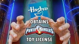 Hasbro Obtains Power Rangers Toy License