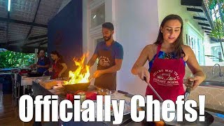 Cooking DELICIOUS Thai Food in Chiang Mai!! @ Thai Cookery School