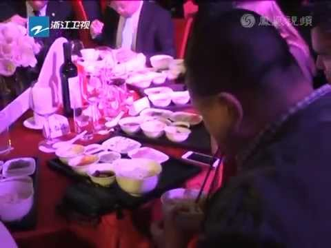140407 Siwon and Hangeng met at Jackie Chan's event