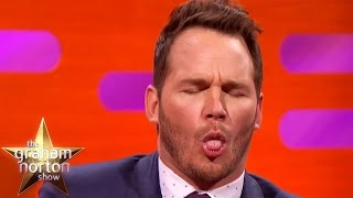 Chris Pratt Ate Off People's Plates As A Waiter - The Graham Norton Show