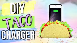 DIY   Taco Phone Charger/Holder